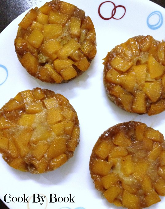 Peach Upside-Down Mini Cake4