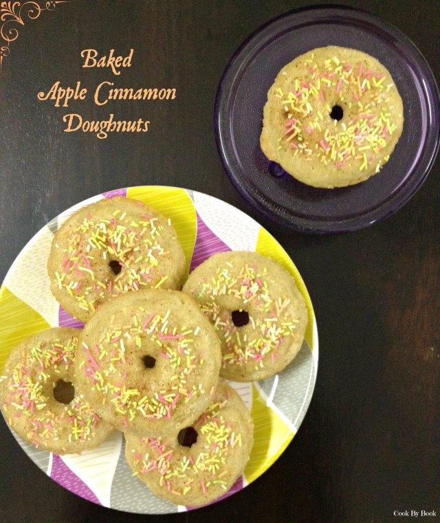 Baked Apple Cinnamon Doughnuts1